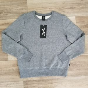 🔴 OAKLEY Pullover Sweatshirt Cotton Fleece LARGE